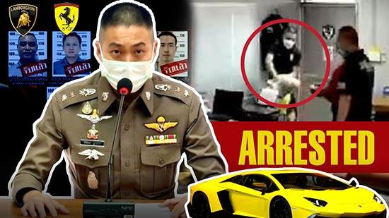 Joe Ferrari (Thitisan Utthanaphon), Former Thailand's Top Cop Arrested