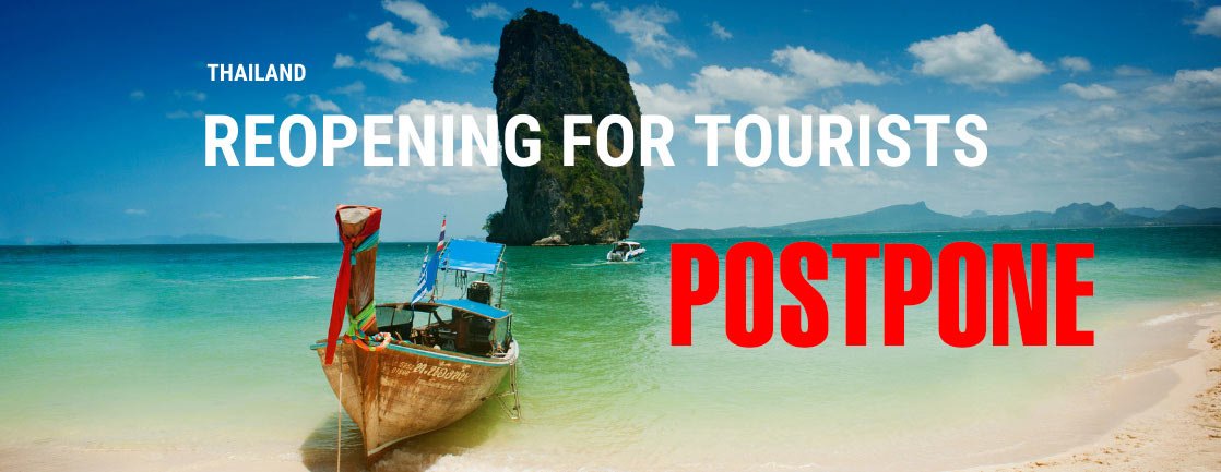 Thailand Postpone Reopening to Foreign Tourists