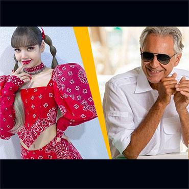"Lisa ""LALISA"" Manoban From Blackpink & Andrea Bocelli To Perform at Thailand's Reopening"