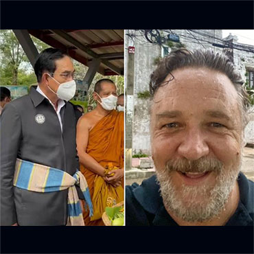 Russell Crowe Fled Australia & Was Later Seen in Bangkok & Phuket