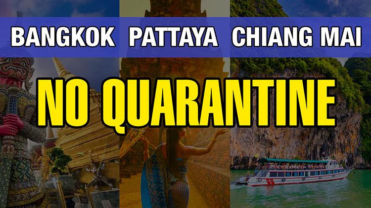 Thailand Approved No Quarantine Plan