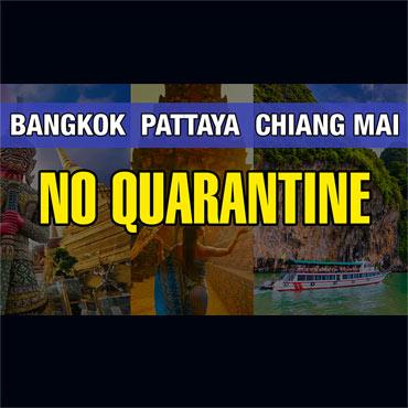 Thailand Approved No Quarantine Plan Starting November 1st