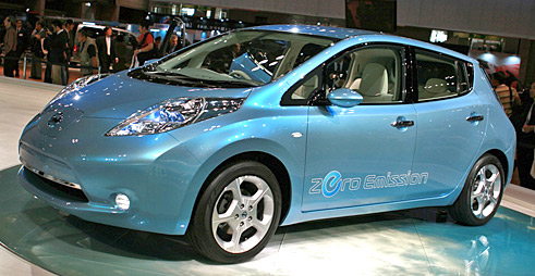Nissan Leaf first affordable all electric car