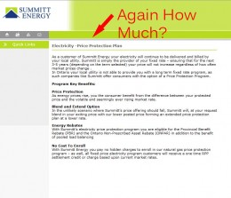 Summitt Energy Electricity Page 2007-2008 - No gas and electricity prices
