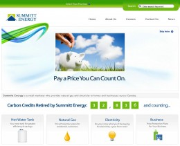 Summitt Energy Home Page 2009-2010 - No gas and electricity prices