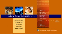 Alberta Energy Savings Group's website in 2002 to 2007 - no gas and electricity prices