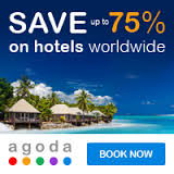 Save up 75% on hotels worldwide. Book now>
